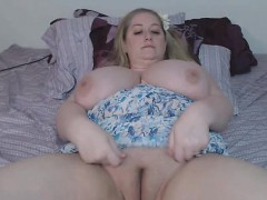 bbw-blonde-with-monster-tits-masturbates