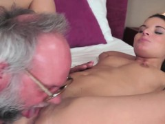 granddad-playful-with-a-babe
