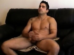 Stroking Amateur Straight Boy Zack