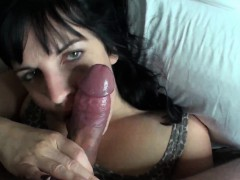 voluptuous-dark-haired-babe-gets-a-mouthful-of-this-turgid