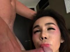 Asian Tranny Barbara D Gets Fucked Hard