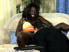 White Perv Pumps A Beautiful African Babe In The Beach.