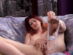 Hot Milf Constance Gets Nasty With A Vibrator