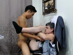 Daddy And Asian Boy Jordan Bareback