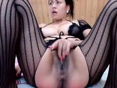 horny-chick-gets-lonely-and-nails-her-twat-with-a-black-dil