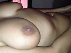 Big Breasted Brunette Wife Uses Her Fingers And A Toy To Fi