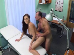 Doctor Fucking Hot Student Pussy In Hospital