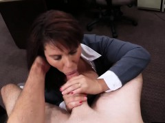 Booby Milf Pawns Her Pussy And Banged By Pawn Dude