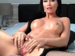 Mature Milf Masturbation With Machine Dildo