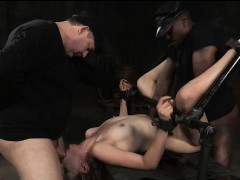 restrained-bitch-pulverized-by-big-cocks