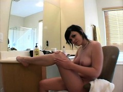Sexy Andi Gets Lonely And Tries To Seduce You With Her Hot Feet