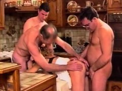 Lindsey French Mature Gangbang