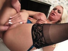 Buxom Blonde Milf With Big Titties Takes A Dick Ride