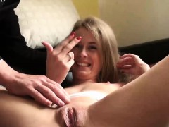Pascal Helps Beautiful Brunette Carmel To Reach An Orgasm