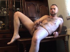 hairy-dude-brutal-hospital-loves-fapping-more-than-anything