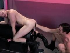 Skinny School Boy Gay Porn Axel Abysse Crouches On A Fisting
