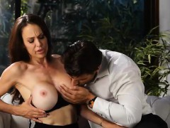 He Cant Resist Busty Milf Loves Cum On Her Big Tits