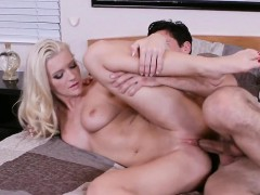 Sexy Blonde Pussy Stretched Deep Addison Avery