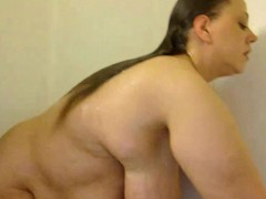 fat-woman-with-huge-tits-taking-a-shower