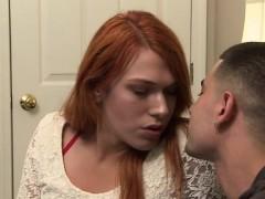 Tgirl Aspen Lures Vadim For Anal Sex