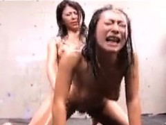 Wild Asian Wrestlers Fulfill Their Lesbian Fantasy With A S