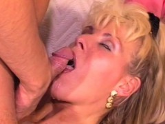 Blonde MILF Anal Pounded Ass To Mouth Cumshot