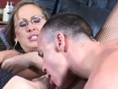Amazing Mandy Bright Getting A Huge Facial