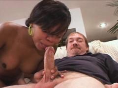 Hot Black Newlywed Gets White Cock Boned In Ebony Pussy