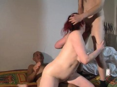 Fat Redhead Having A Hot Butt Experiencing A Mind Blowing B