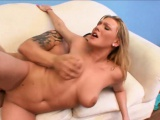 Busty Victoria Van Rides Dick Cowgirl