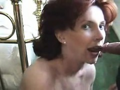 Milf Takes Cumload In Her Mouth