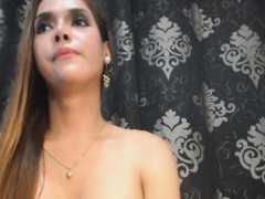 Awesome Tranny Jerking Off On Cam