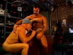 Chance, Joe And Marc Are Very Horny Daddy Mechanics, They