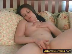 She Can Not Stop Masturbating