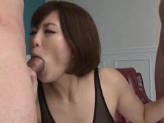 tomoka sakurai appears to be sucking on two cocks xxx.harem.pt