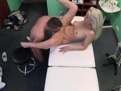 Fake Hospital Big Tits Horny Milf Chiropractor Fucks Doctor