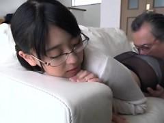 sweet japanese asian amateur long hair sister
