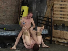 Fugly Twinks Have Naughty Sex In Their Fuck Dungeon Room