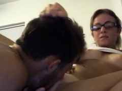 pretty-chick-in-glasses-is-pussy-licking-good
