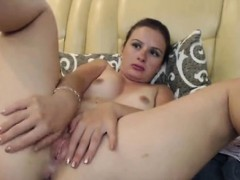 sexy-blonde-teasing-and-seducing-while-rubbing-her-cunt-in-f