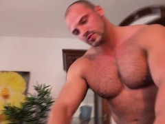 Amateur twink anally drilled and jizzed on