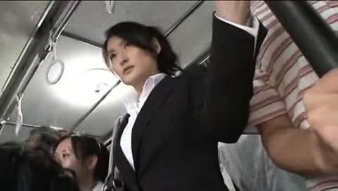 Japanese Public Bus Blowjob And Fuck @ DrTuber