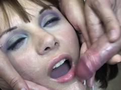 Michelle Swallows 71 Huge Mouthful Cumshots PornoShok-dir