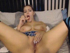 busty-milf-toys-her-pussy-on-webcam