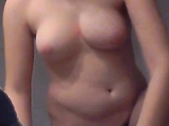 Just Pregnant Michelle Brun Lick Tits Massage Hidden Shower