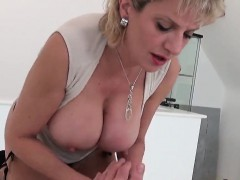 Unfaithful British Mature Lady Sonia Exposes Her Large Boobs