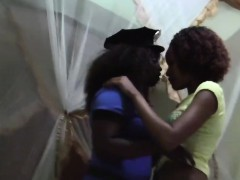 Horny African Babes With Big Butts Enjoys An Amazing