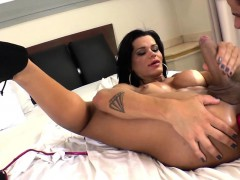 muscular-latin-tgirl-gets-her-tight-ass-toyed