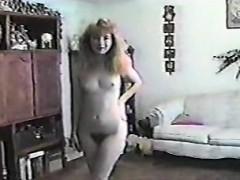 Vintage Solo Bride On Webcam