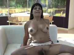 Busty Latin Shemale Ts Foxxy Anal Banged By Hard Cock